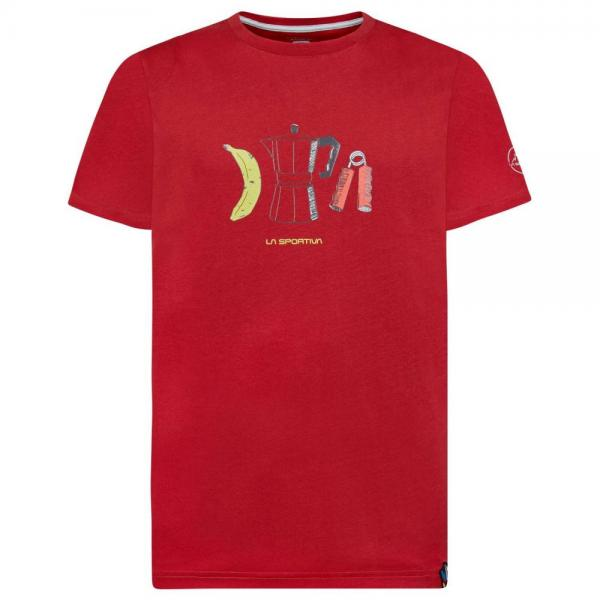 Breakfast T-Shirt Man Chili