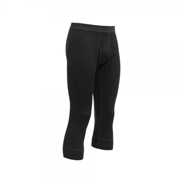 Expedition Man 3/4 Long Johns w/Fly Black