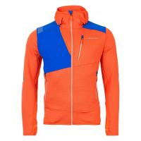Lucendro Thermal Hoody Man Flame/Sky Blue