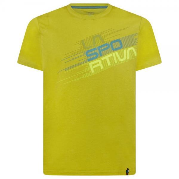 Stripe Evo T-Shirt Man Kiwi