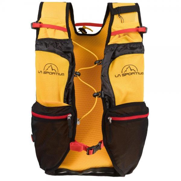 Trail Vest Black/Yellow