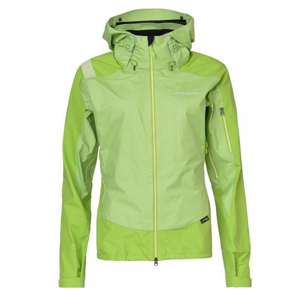 Cornier GTX Jacket Woman Apple Green/Lime Green