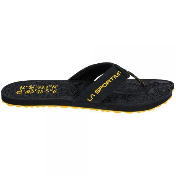 Jandal Black/Yellow