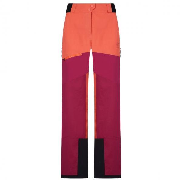 Firestar Evo Shell Pant Woman Red Plum/Paprika