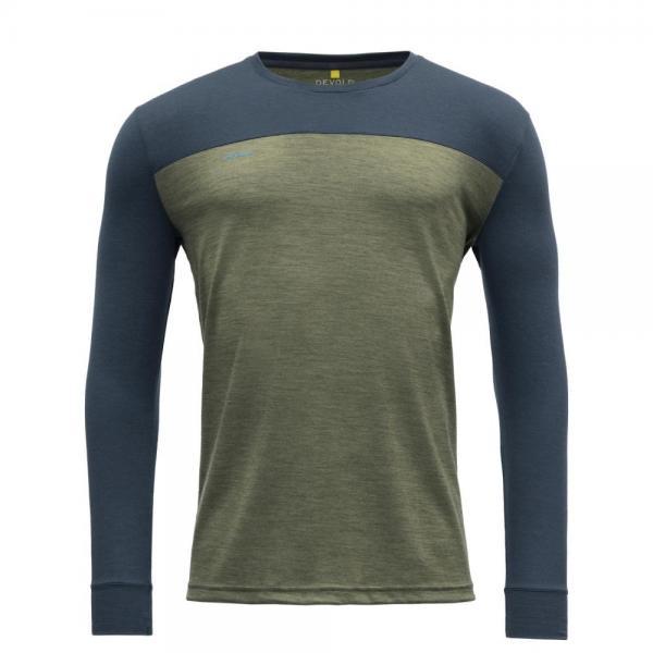 Norang Man Shirt lichen melange/night