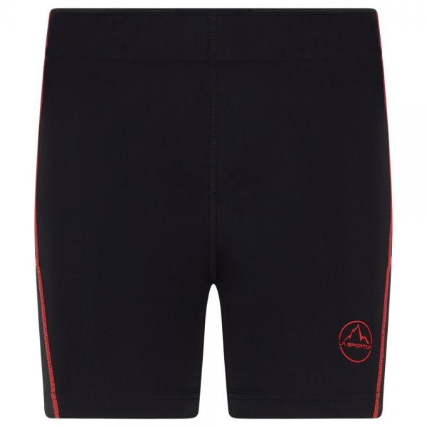 Trimuph Tight Short Woman Black/Hibiscus