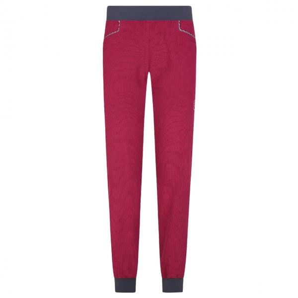 Session Pant Woman Red Plum