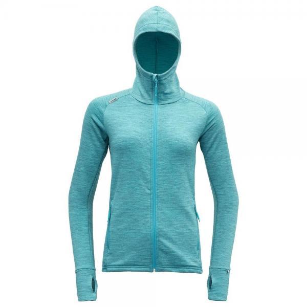 Nibba Woman Jacket w/Hood bay melange