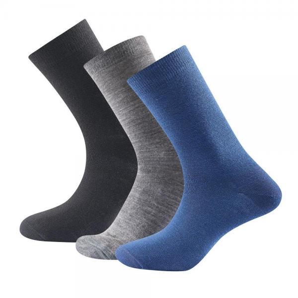 Daily Light Sock indigo mix