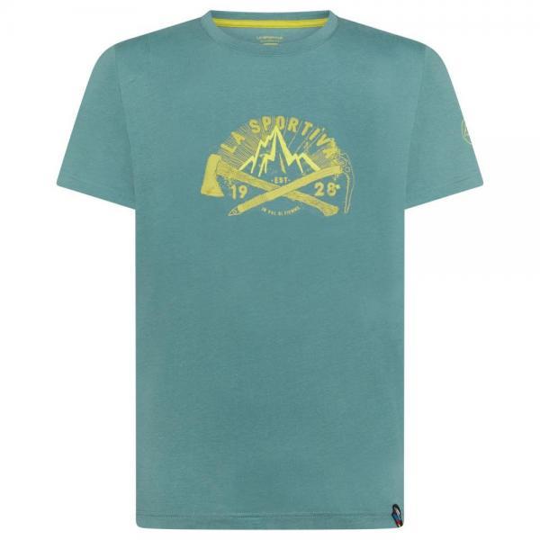 Hipster T-Shirt Man Pine