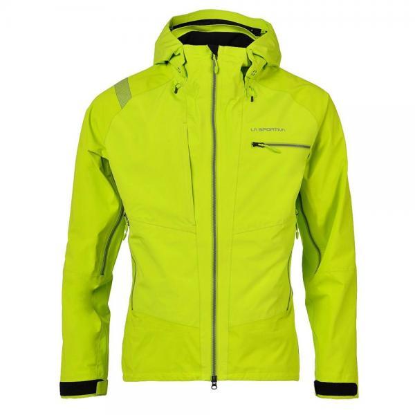 Lyskamm GTX Jacket Man Lime Green