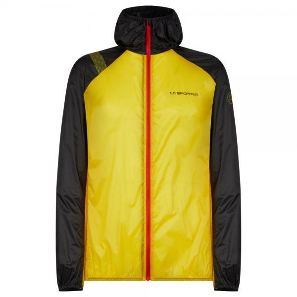 Blizzard Windbreaker Jacket Man Yellow/Black