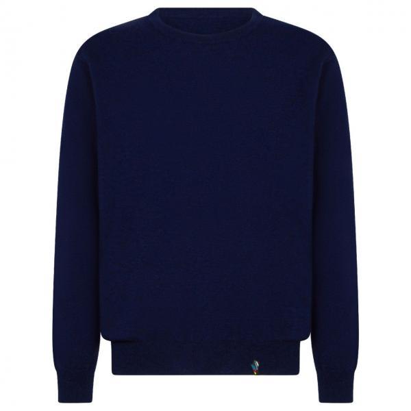 Monk Pullover Man Night Blue