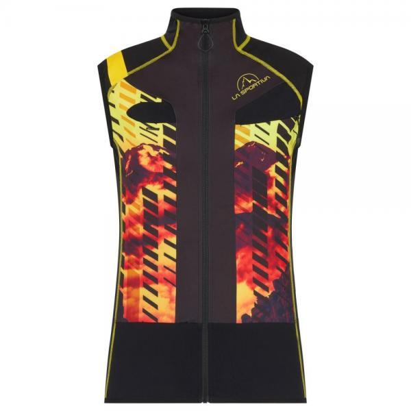 Stratos Racing Vest II Man Black/Yellow
