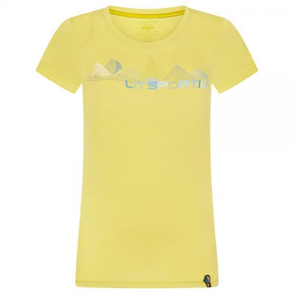 Peaks T-Shirt Woman Celery