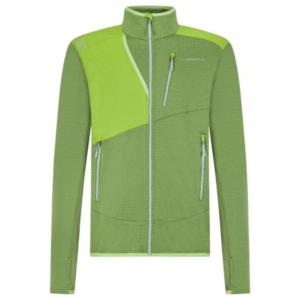 Rotondo Thermal Jacket Man Kale/Lime Green