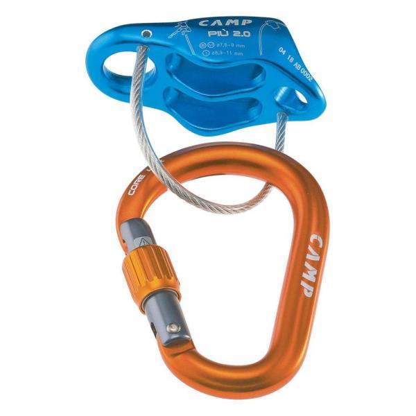 Piu 2.0 Belay Kit Light blue