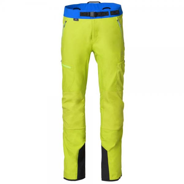 Alpine Guide Softshell Pant Man Apple Green/Sky Blue
