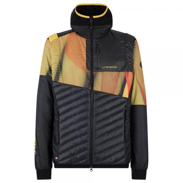 Faster Primaloft Jacket Man Black/Yellow