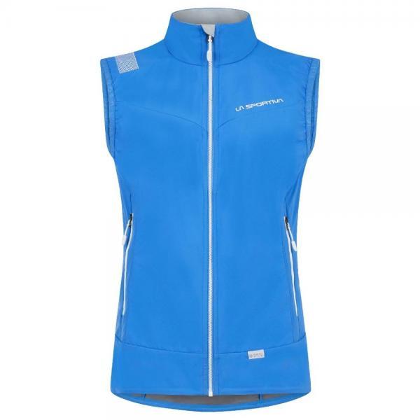 Biferten 2.0 Windstopper Vest Woman Cobalt Blue