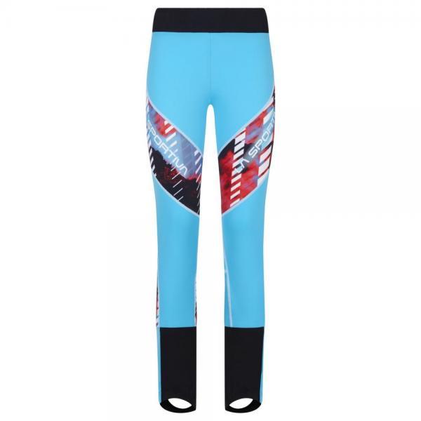 Stratos Racing Pant II Woman Malibu Blue/White