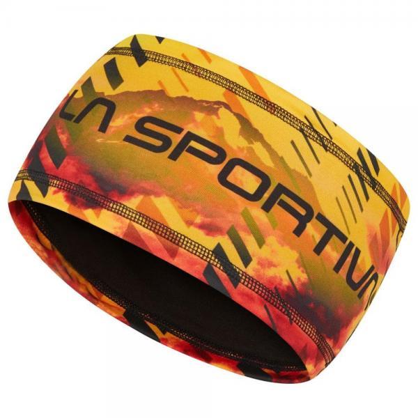 Wing Headband Yellow/Black